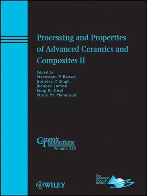 cover image of Processing and Properties of Advanced Ceramics and Composites II
